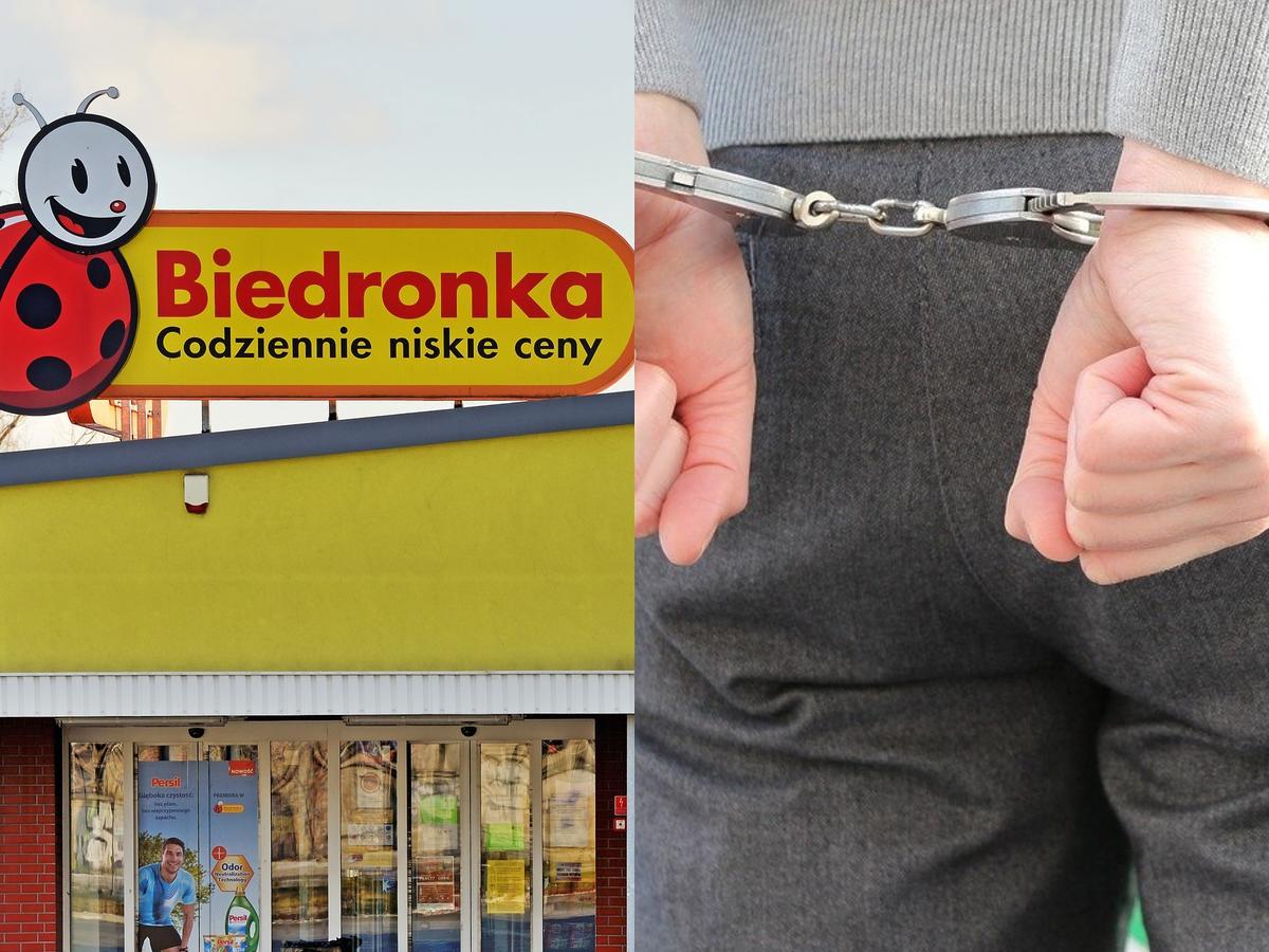 Aresztowanie w Biedronce