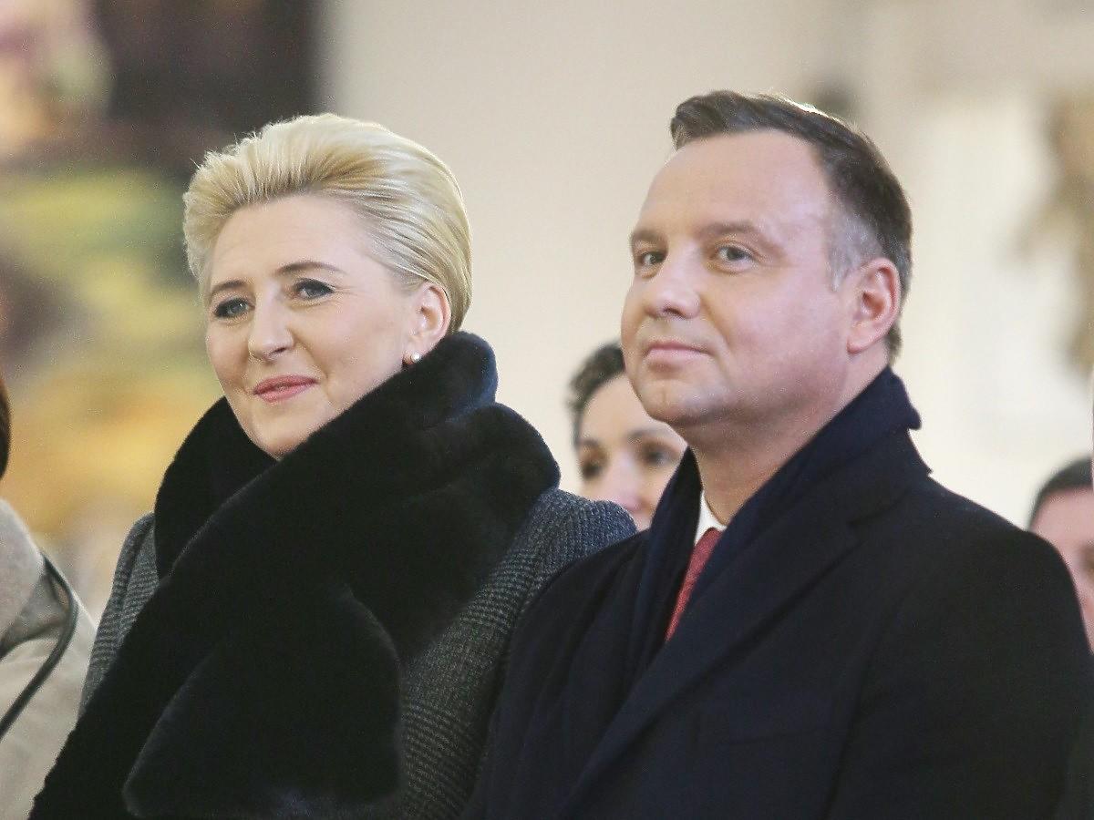 Andrzej Duda lubi najbardziej  jeść pierogi, a czym zajada się jego żona Agata Duda?