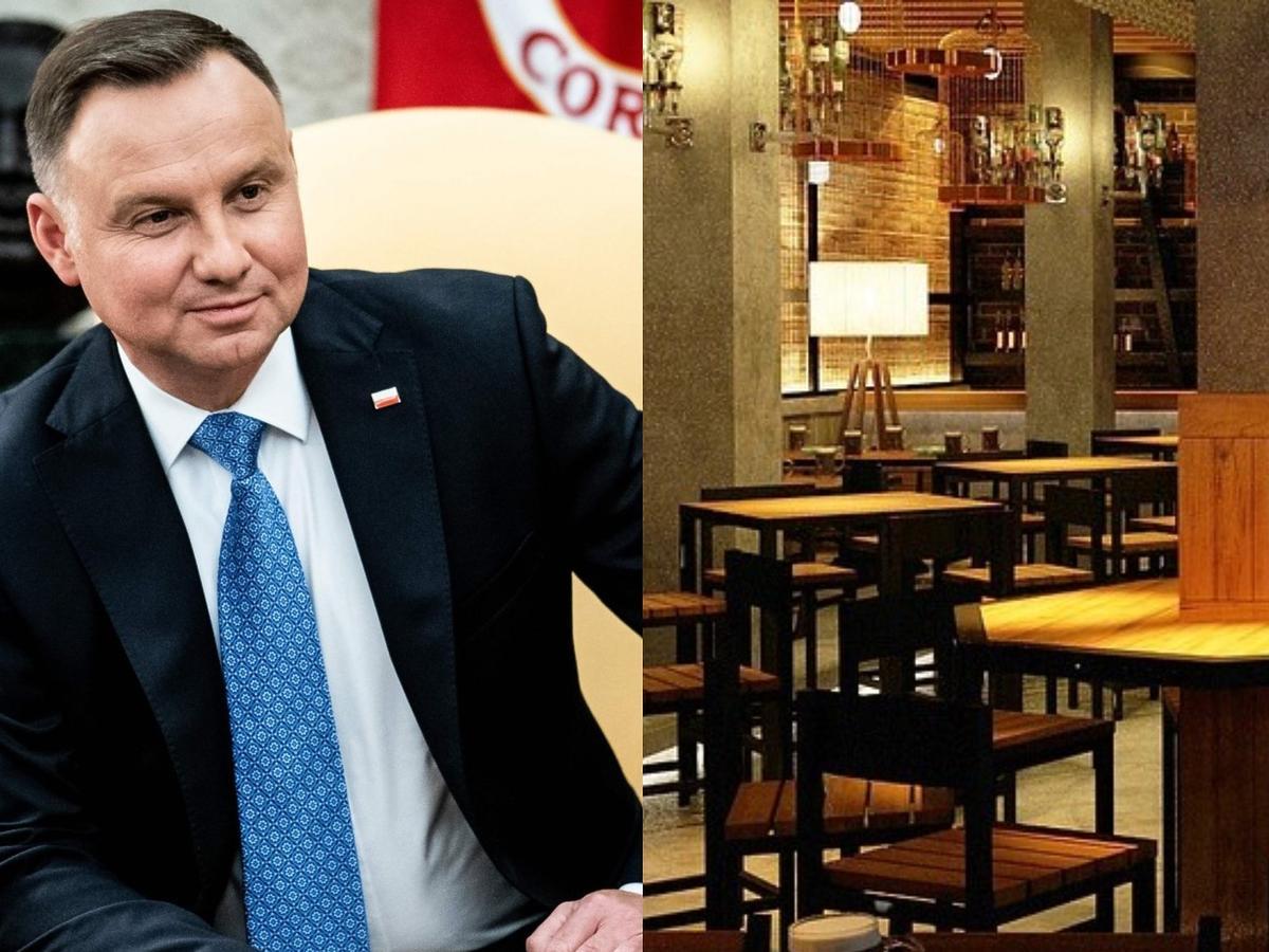 Andrzej Duda, restauracja