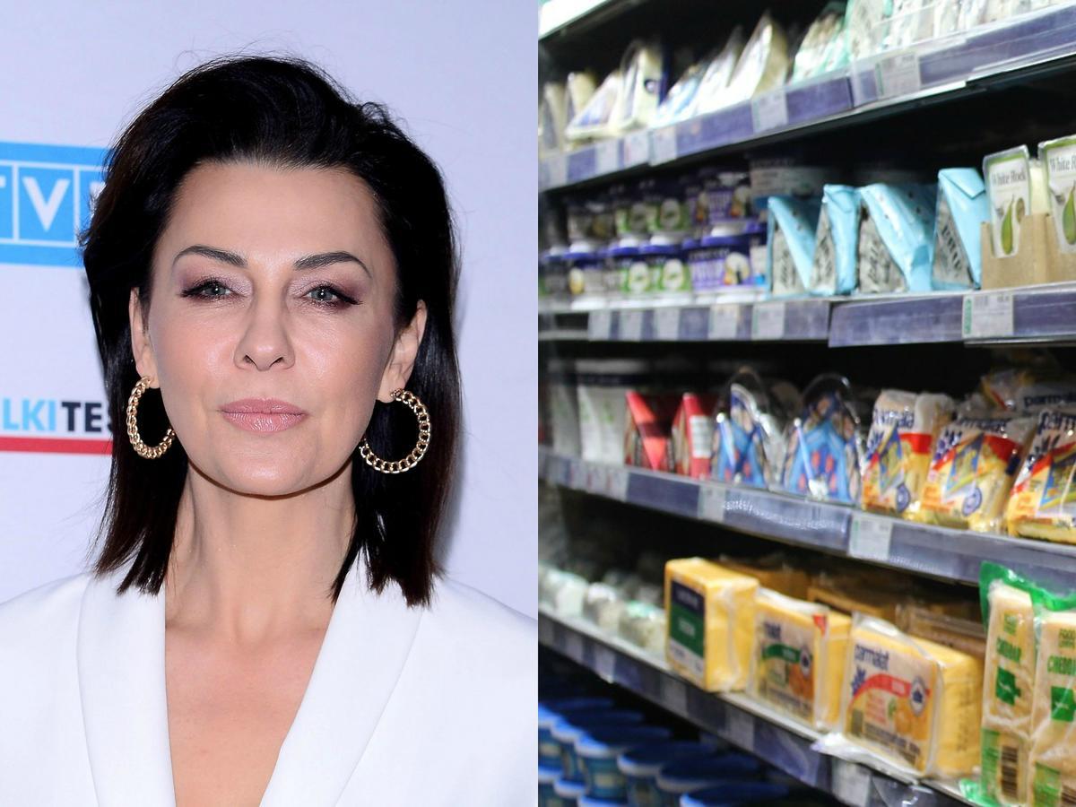 Anna Popek, sklep spożywczy