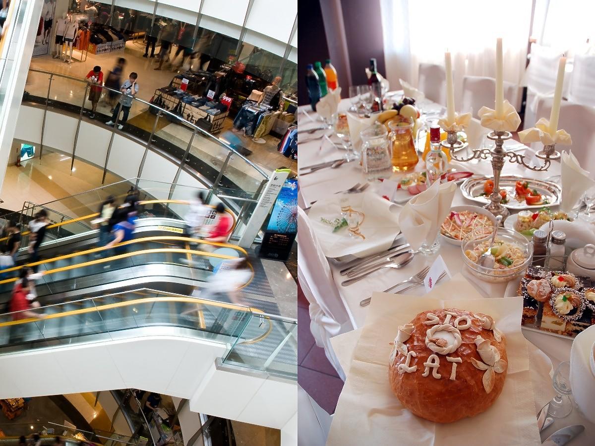 Badanie: Polacy bardziej tęsknią za zakupami w galeriach handlowych niż za schabowym na weselu. A wy co wolicie?