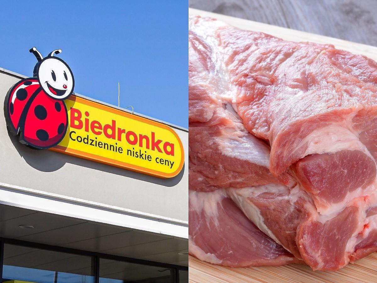 Biedronka idzie na całość z cenami mięsa. Karkówka aż o 50% taniej