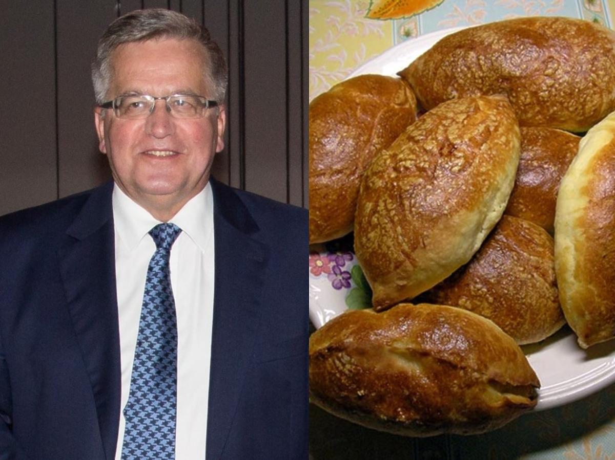 Bronisław Komorowski uwielbia pierogi szpekuchy. Piecze mu je była pierwsza dama