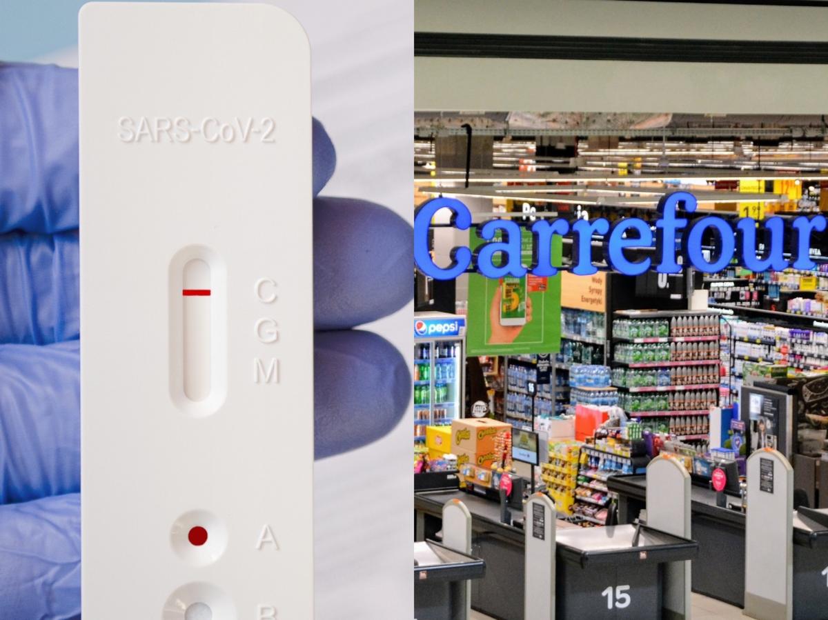 Carrefour wprowadzi testy na COVID-19
