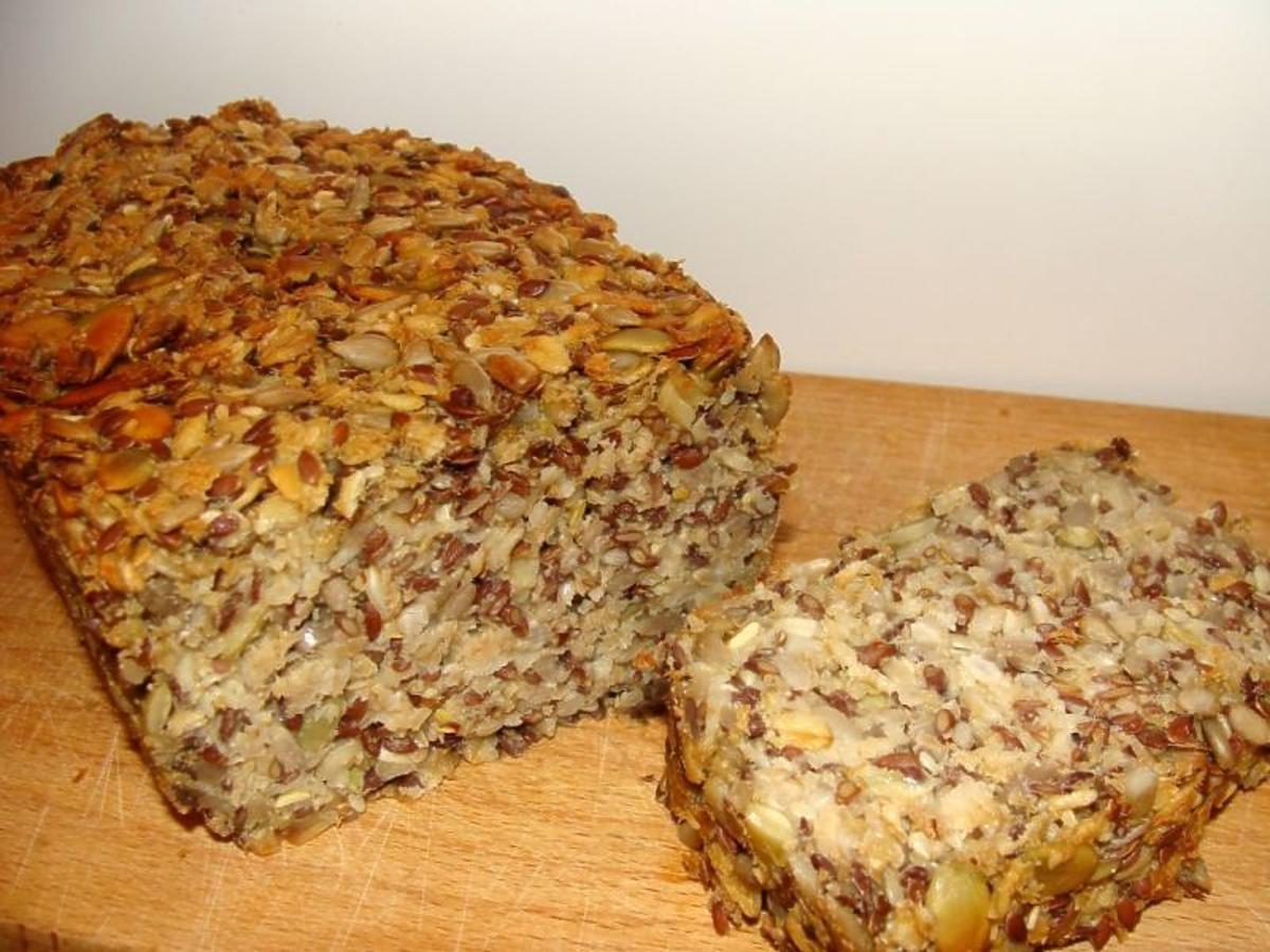 chleb bez mąki przepis