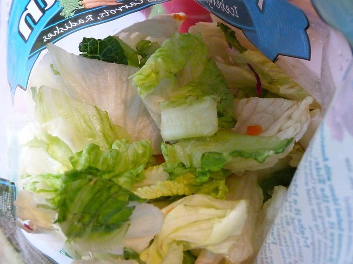 Co za paskudztwo... Ta kobieta już nigdy więcej nie zje pakowanej sałaty