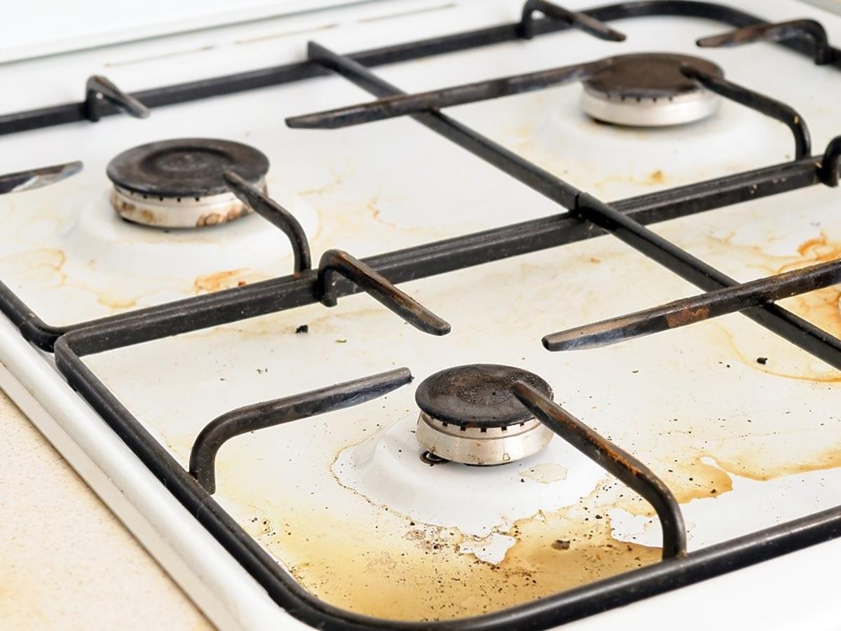 czym czyścić kuchenkę