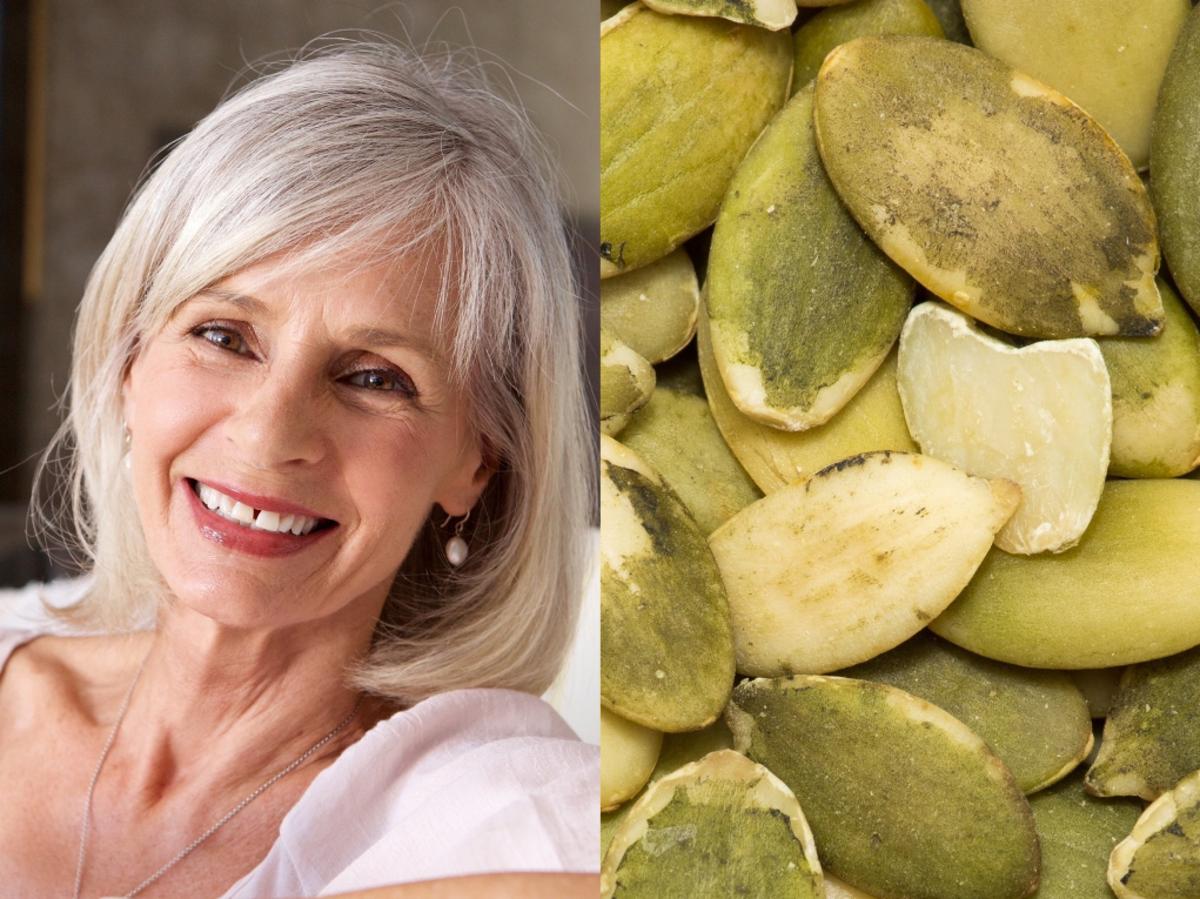 Dlaczego kobieta po 50-tce powinna jeść pestki z dyni?