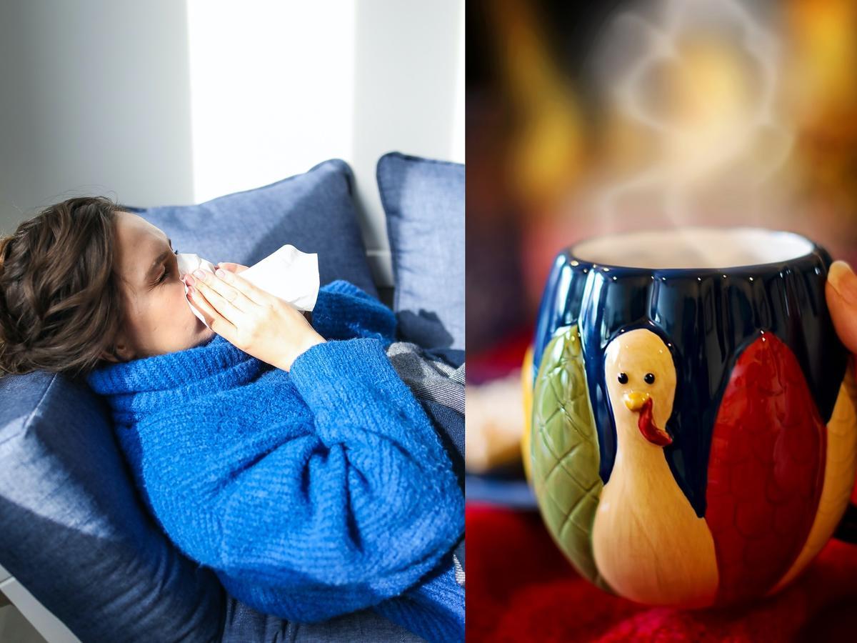 Domowe sposoby na grypę