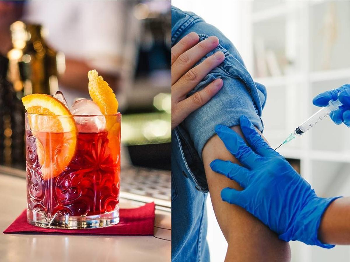 Duża sieć oferuje darmowe drinki dla zaszczepionych! Skusicie się?