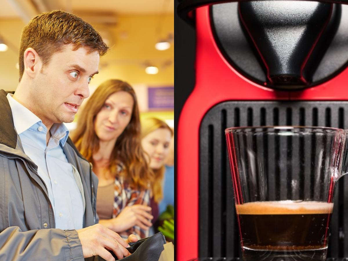 Ekspres do kawy z Biedronki za darmo