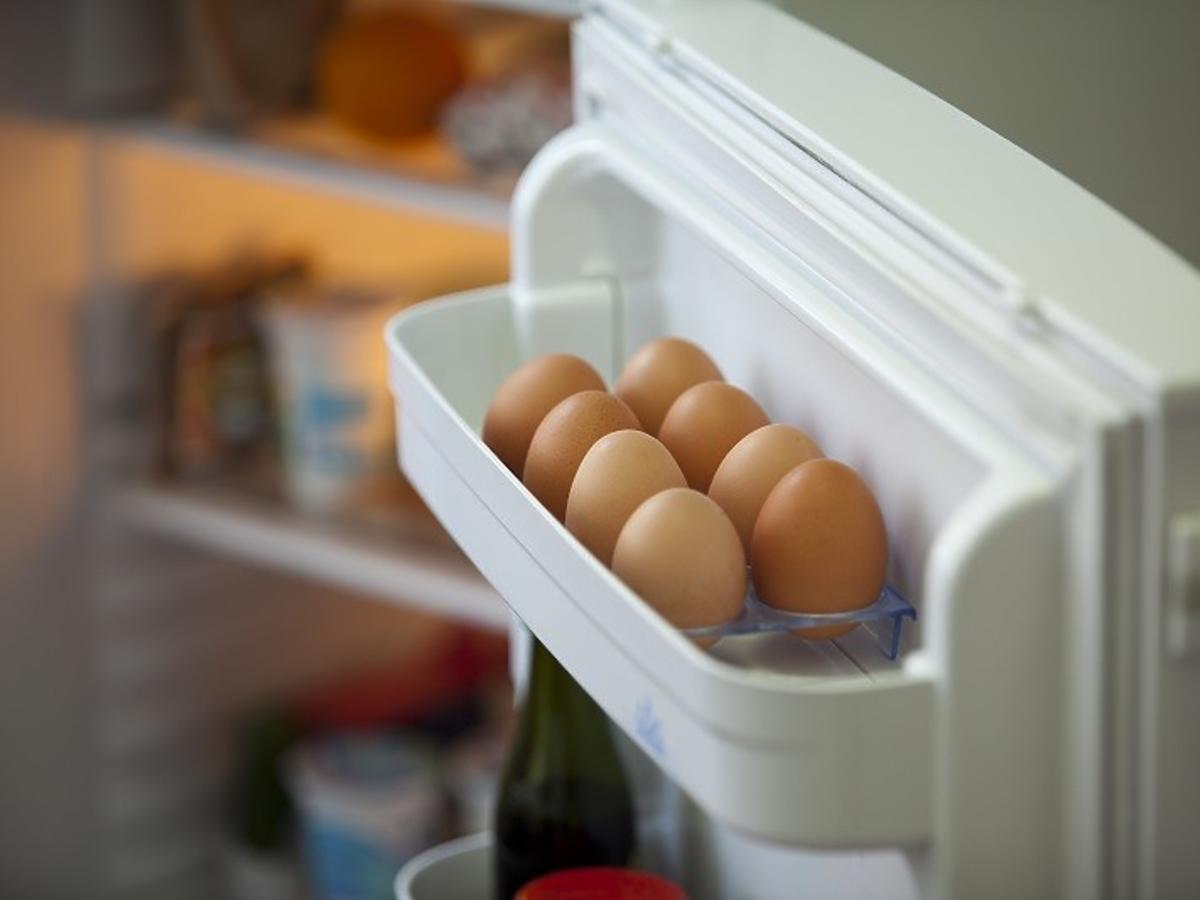 gdzie trzymać jajka
