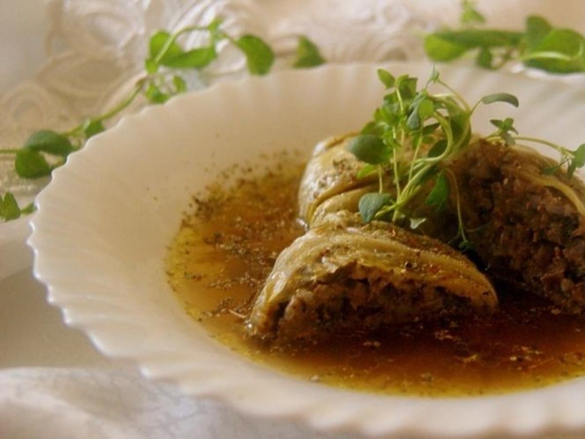 Gołąbki z farszem z gęsiny - przepis na smaczny i wykwintny obiad