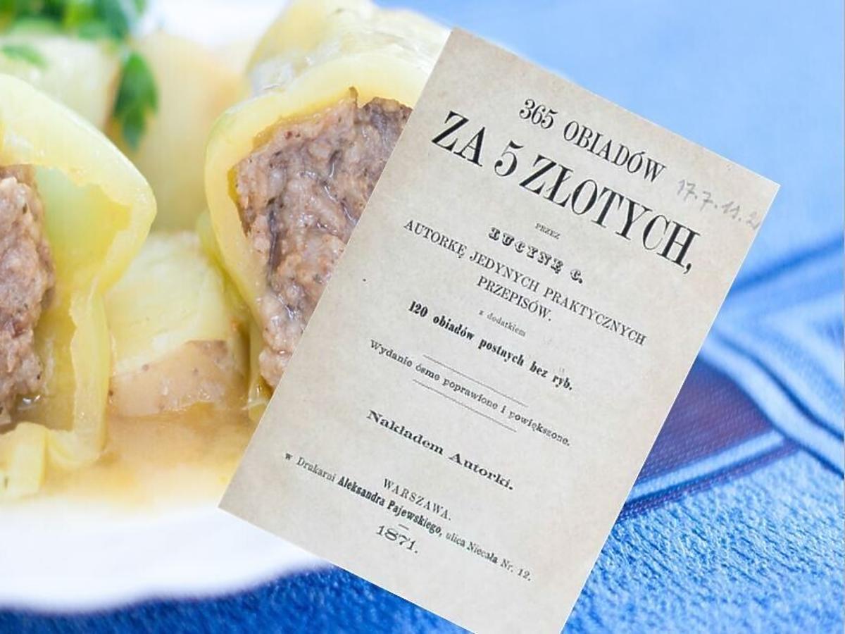 gołąbki z przepisu Ćwierczakiewiczowej 365 obiadów za 5 złotych