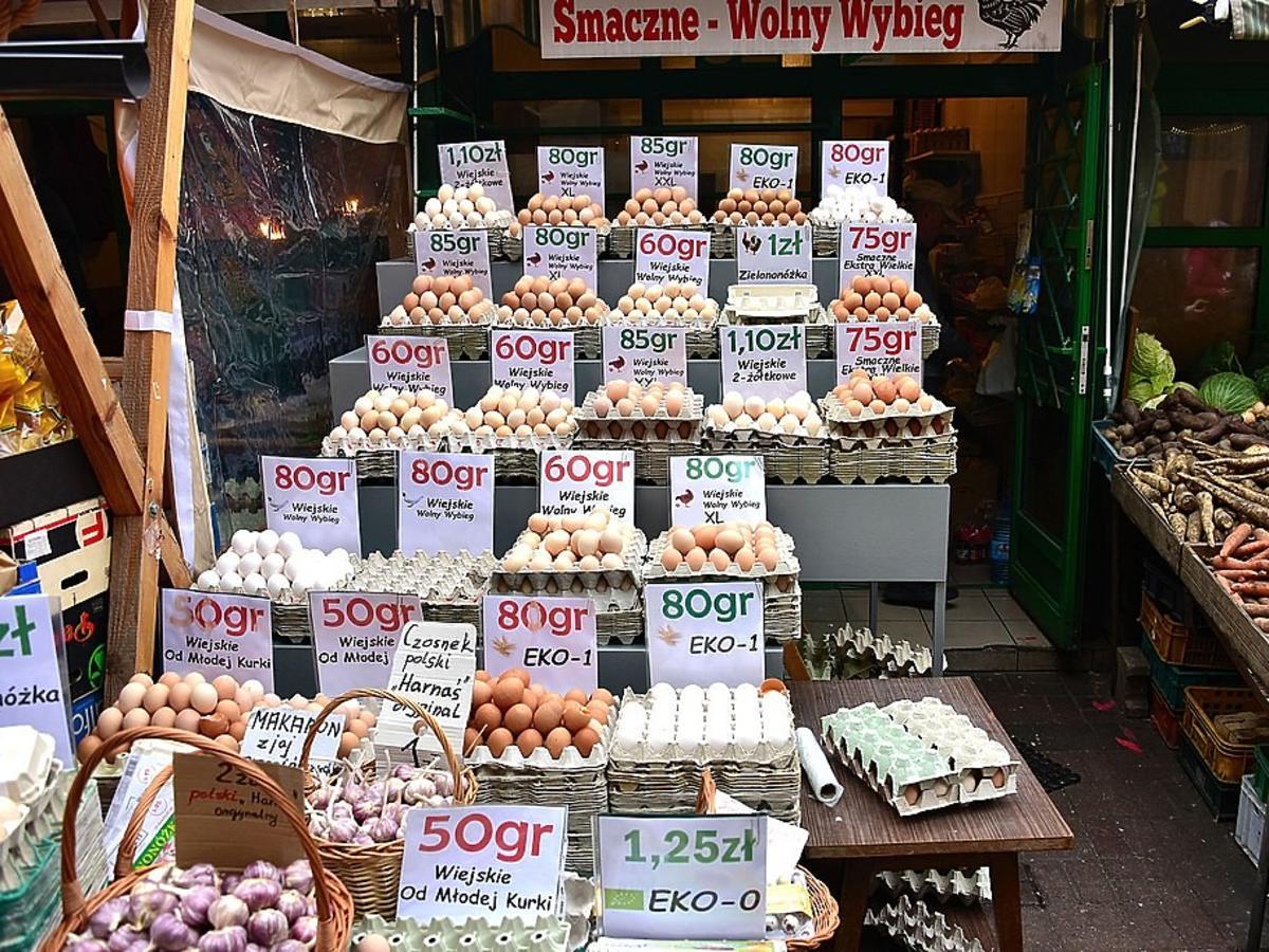 Handel jajkami