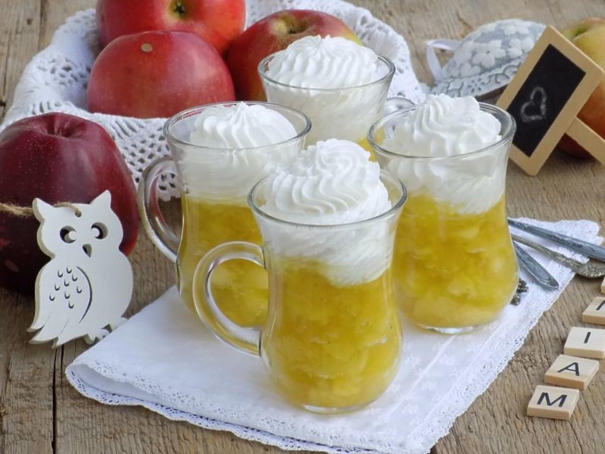 jabłka w galaretce przepis