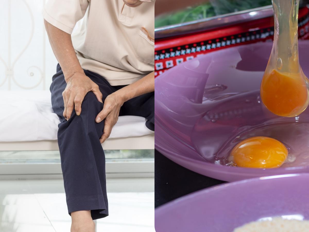 Jajeczna mikstura na stawy