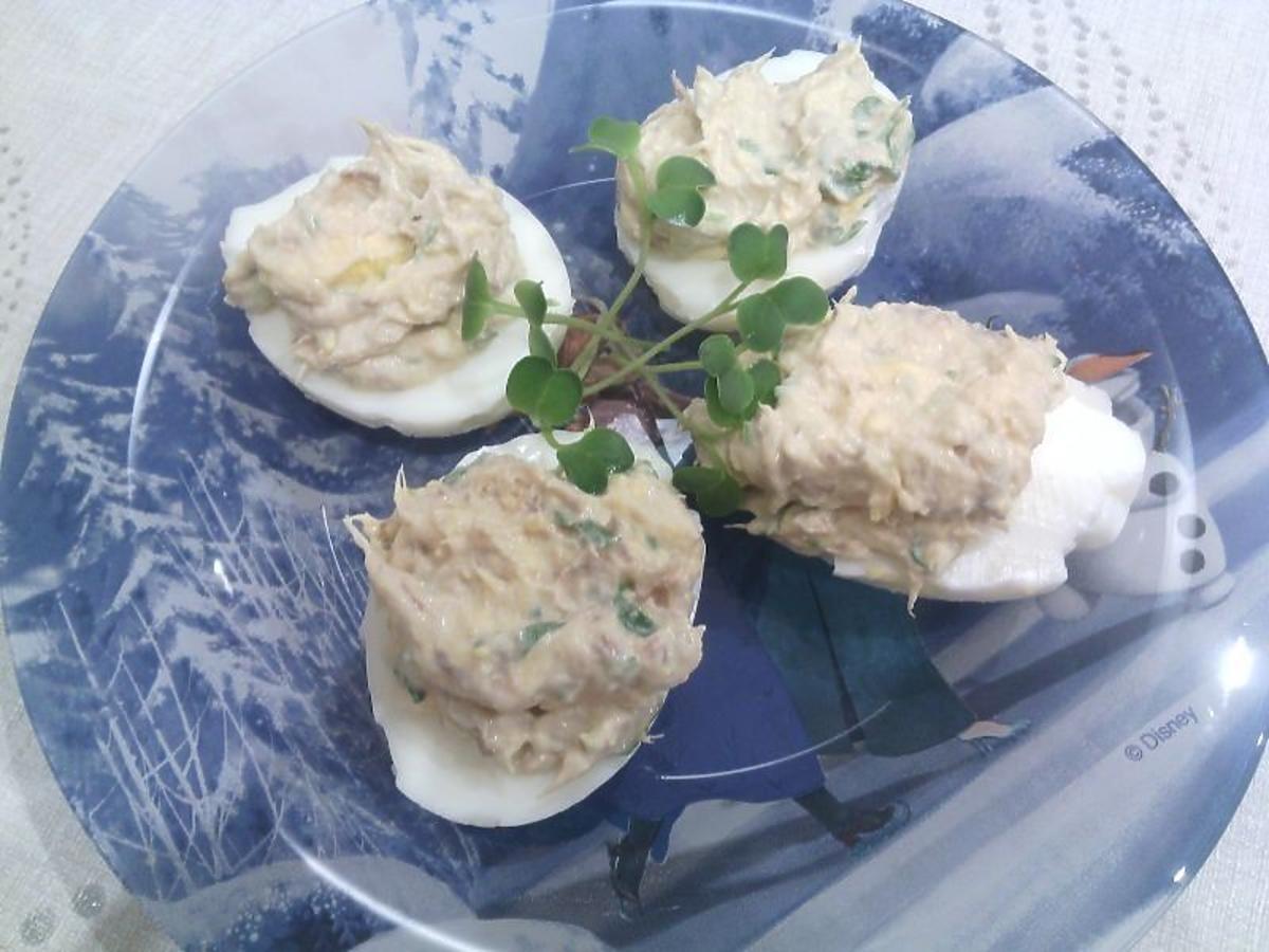 jajka faszerowane z makrelą na wielkanoc