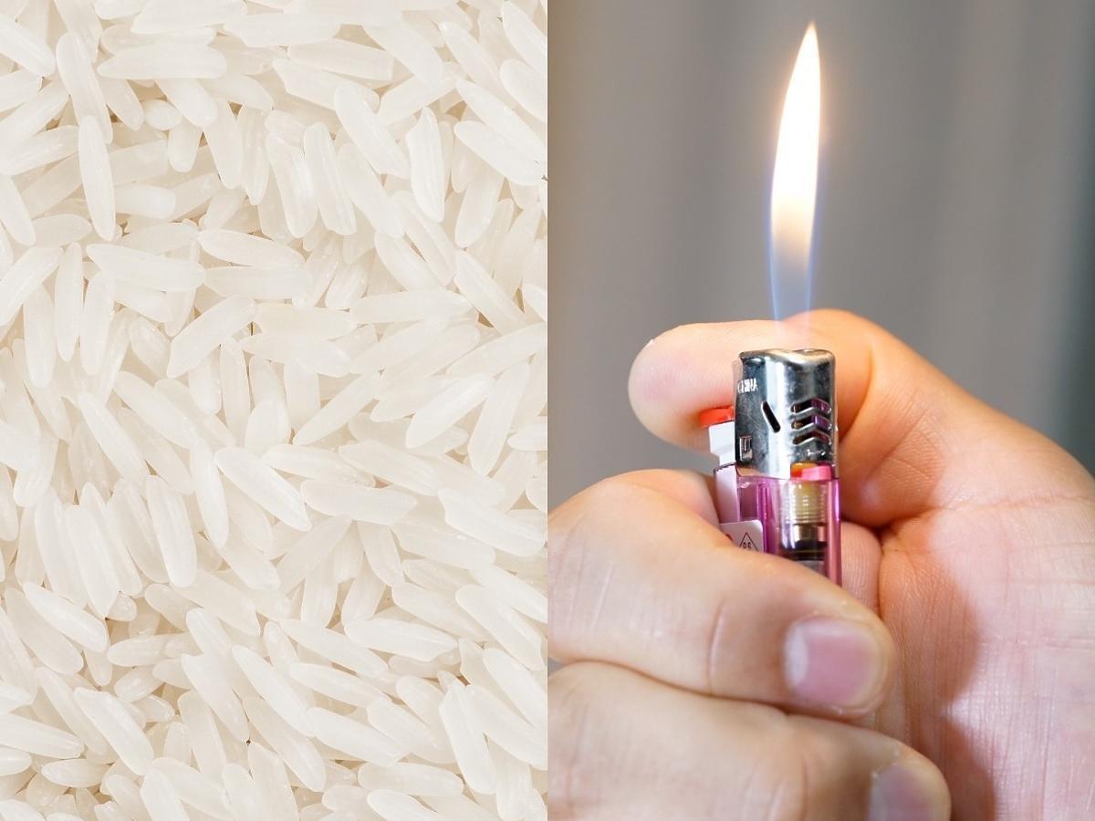 Jak odróżnić prawdziwy ryż od tego z plastikiem?
