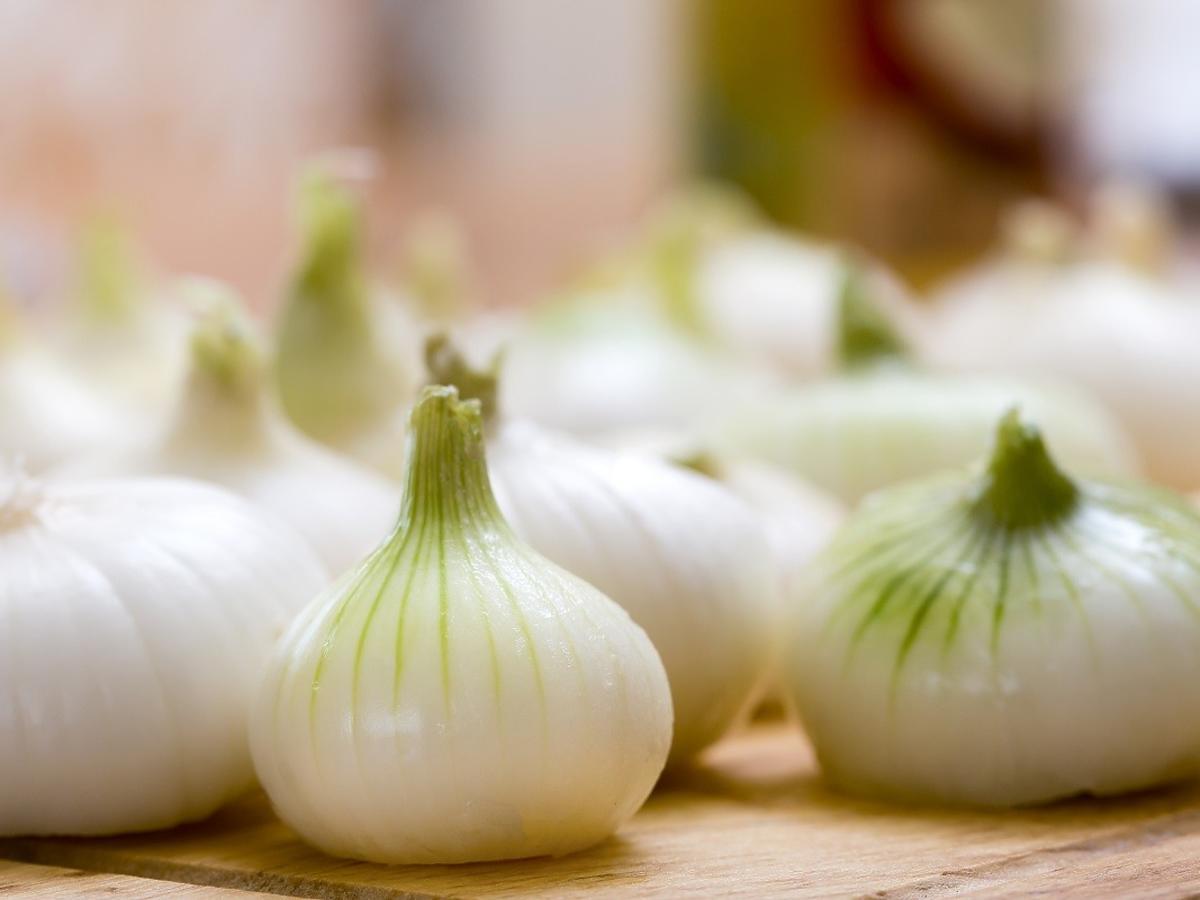 jak opalać cebulę