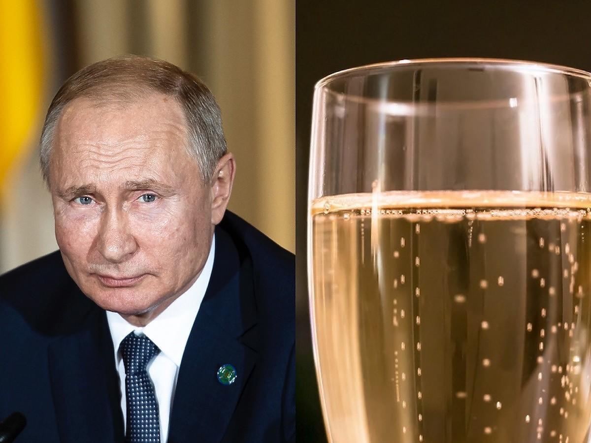 """Jak szampan to tylko rosyjski. Władimir Putin nazywa wszystkie inne zwykłymi """"winami musującymi"""""""
