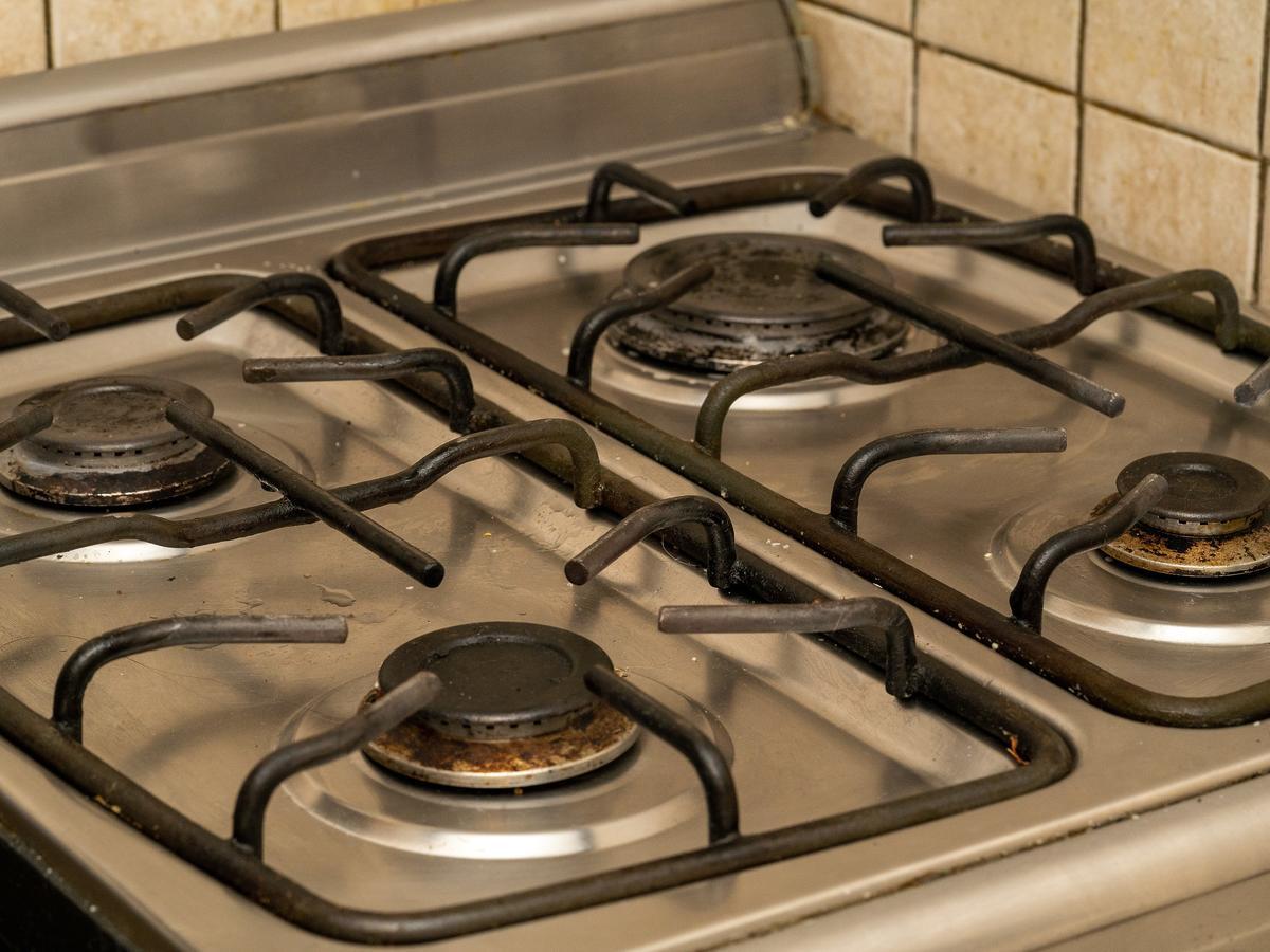 Jak umyć kuchenkę gazową