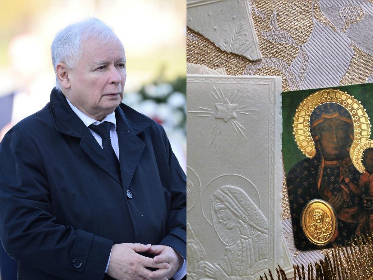 Jarosław Kaczyński, opłatek