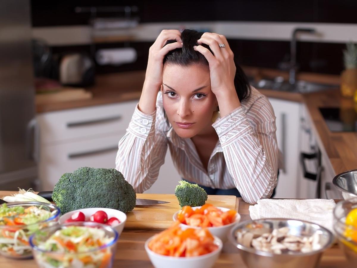 jedzenie które zwiększa stres