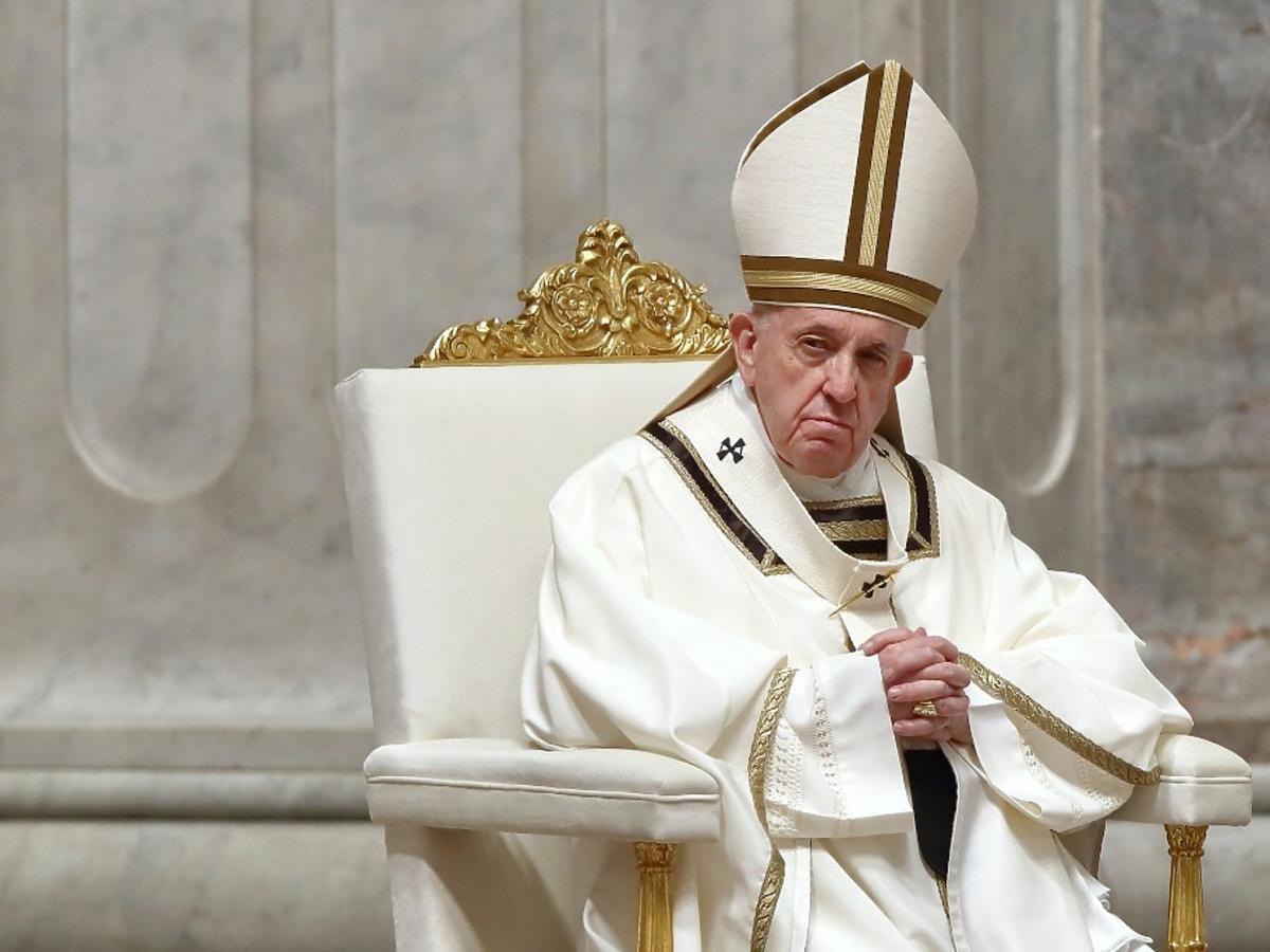 jedzenie papieża Franciszka