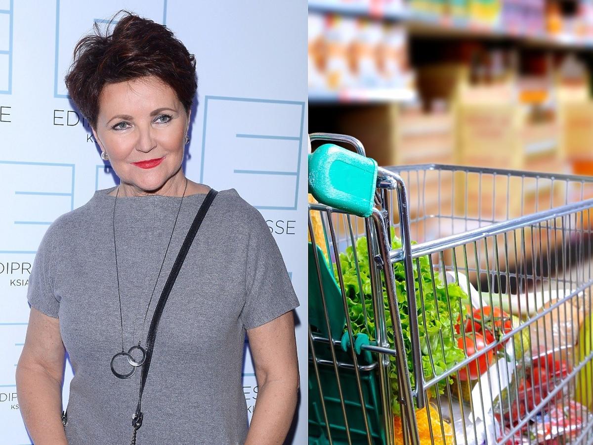 Jolanta Kwaśniewska przyłapana na zakupach w Lidlu. Wiemy, co włożyła do koszyka