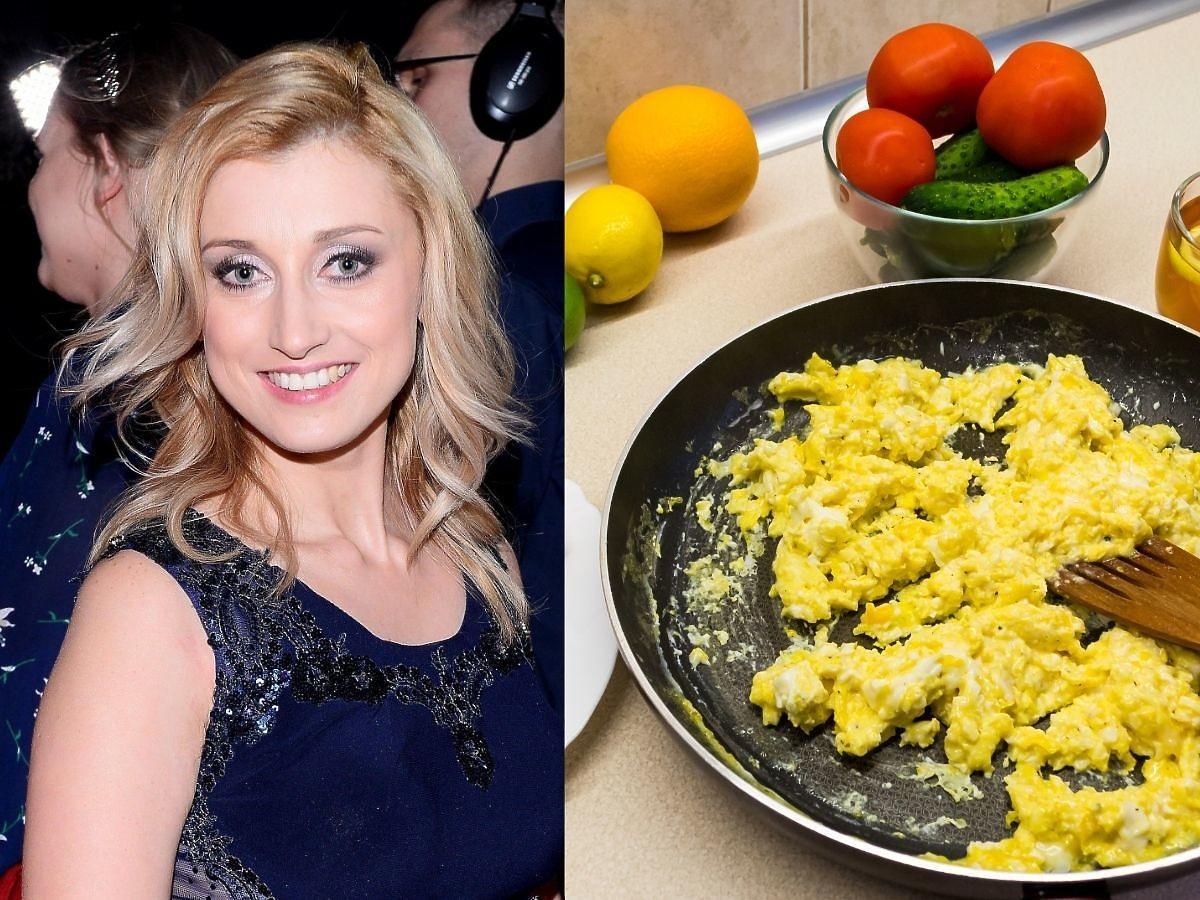 Justyna Żyła pokazała jak przyrządza jajecznicę. Ten dodatek może was zaskoczyć