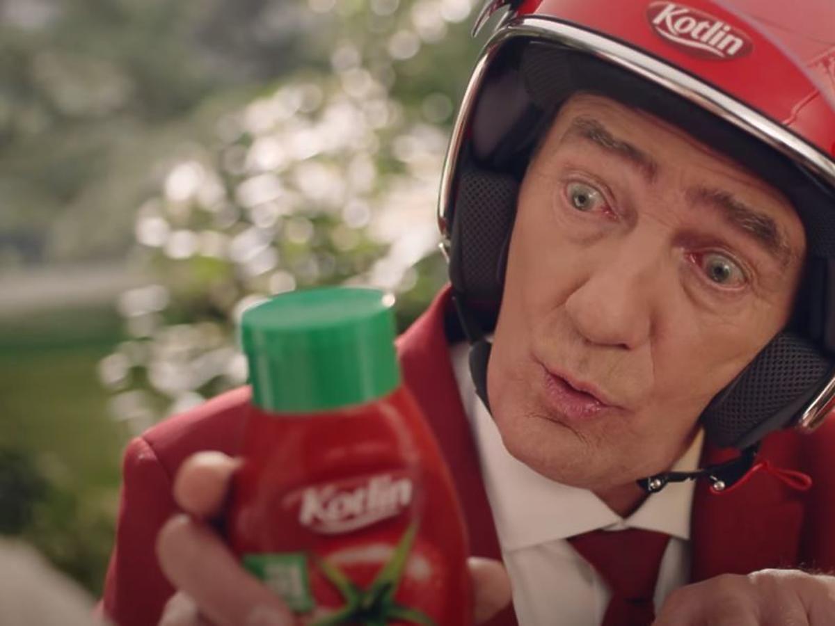 Karol Strasburger wystąpił w reklamie keczupu. Hit roku?