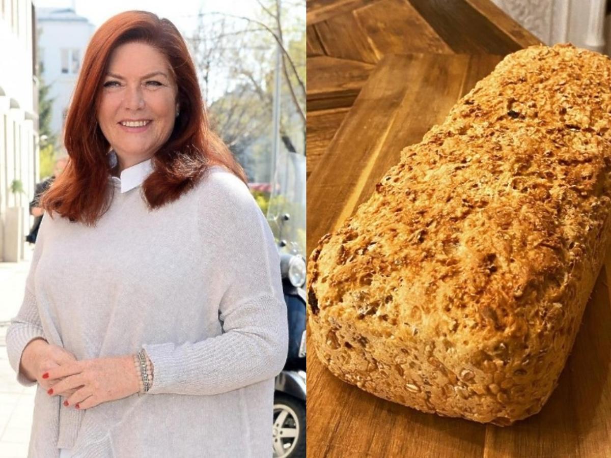 Katarzyna Dowbor pochwaliła się swoim efektownym chlebem. Mamy przepis