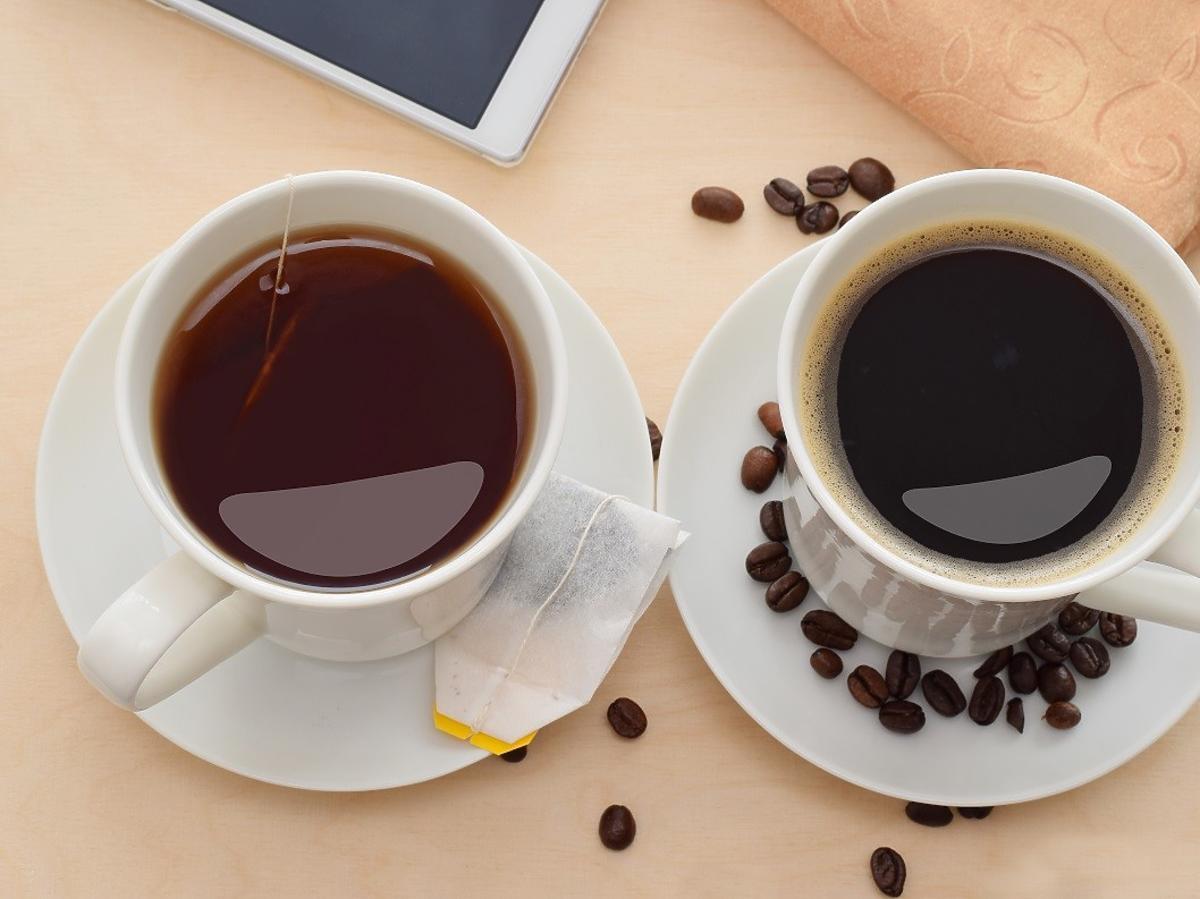kawa herbata co jest zdrowsze