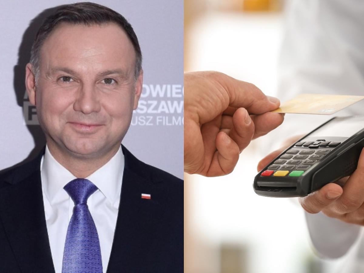 Kazano wam kiedyś płacić za zakupy kartą? Prezydent Duda chce możliwości płatności gotówką
