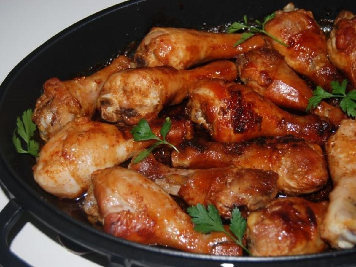 kurczak w zalewie miodowej przepis