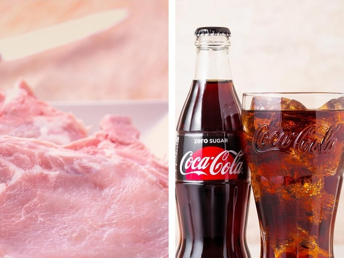 mięso duszone w coca coli i keczupie przepis