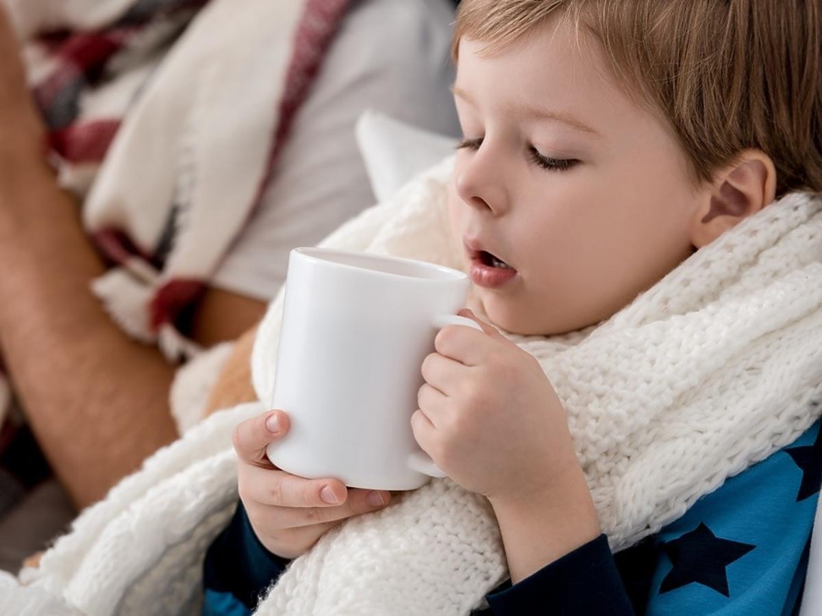 mleko z czosnkiem na przeziębienie