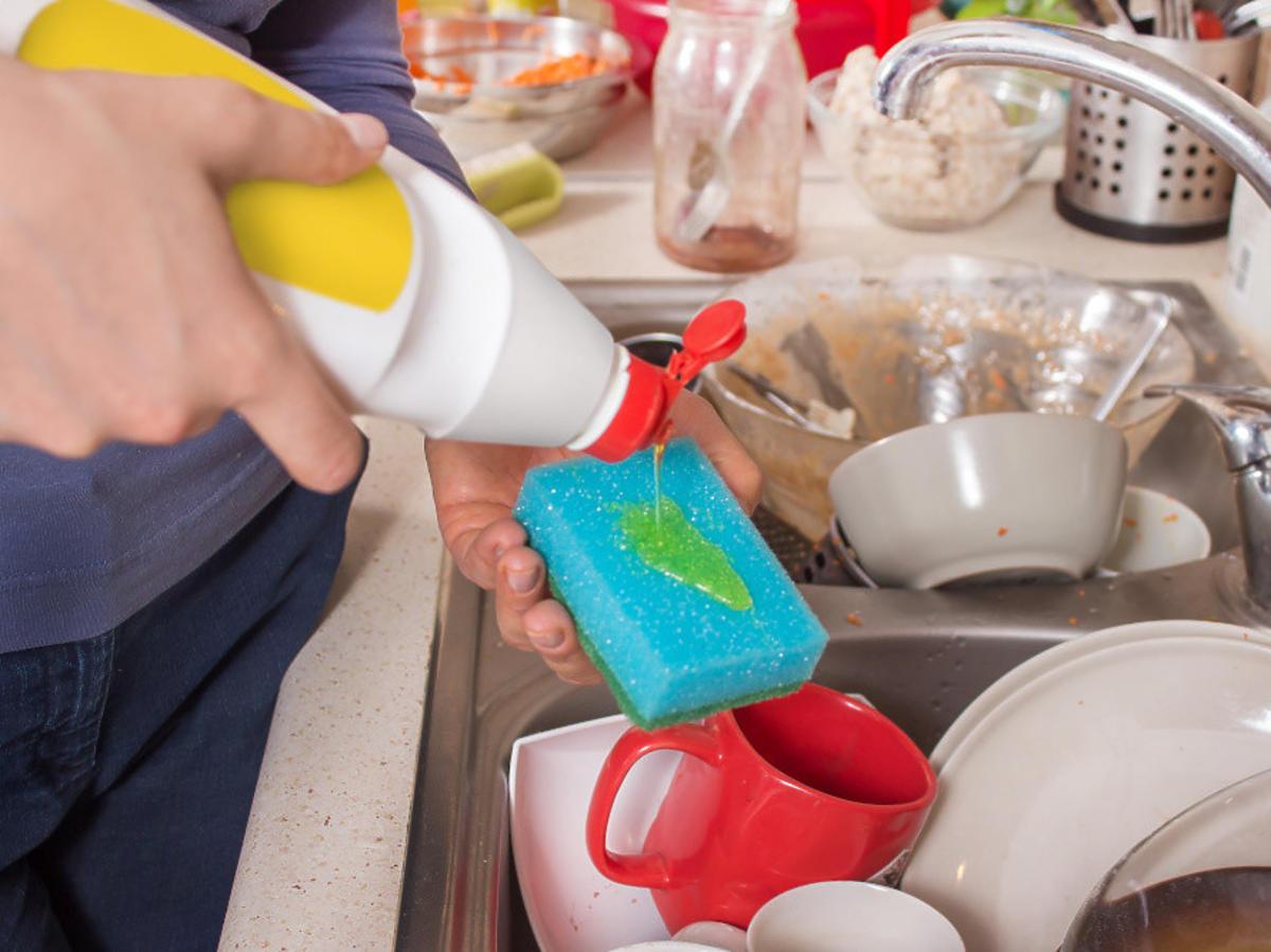 mycie naczyn
