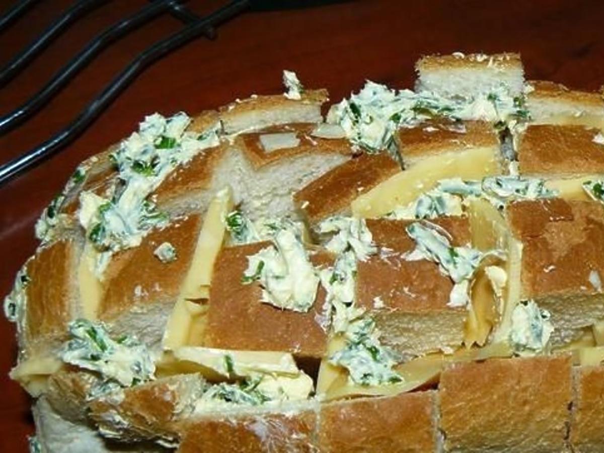 nacinany chlebek czosnkowy przepis