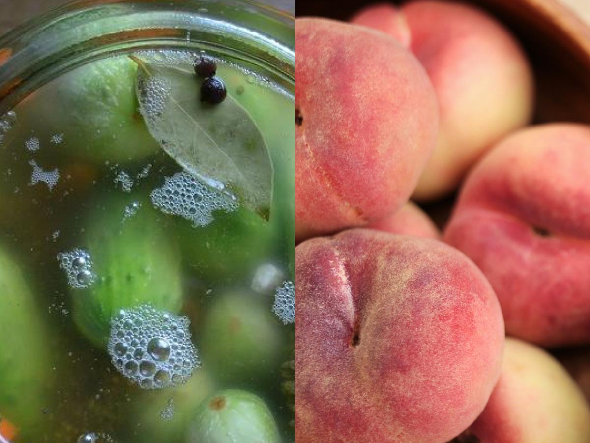 Niektórzy dodają do ogórków małosolnych czereśnie, śliwki i nektarynki. Przetestujecie?