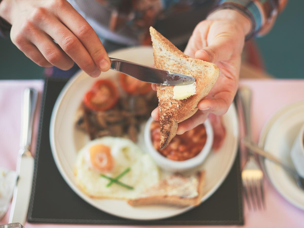 Niezdrowe śniadania