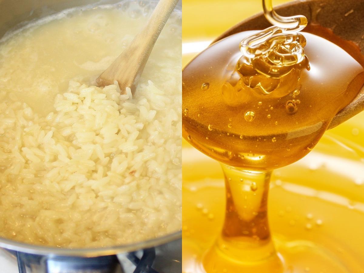Nigdy nie wylewajcie wody po ryżu. Dodajcie do niej łyżkę miodu, a efekt totalnie was zaskoczy