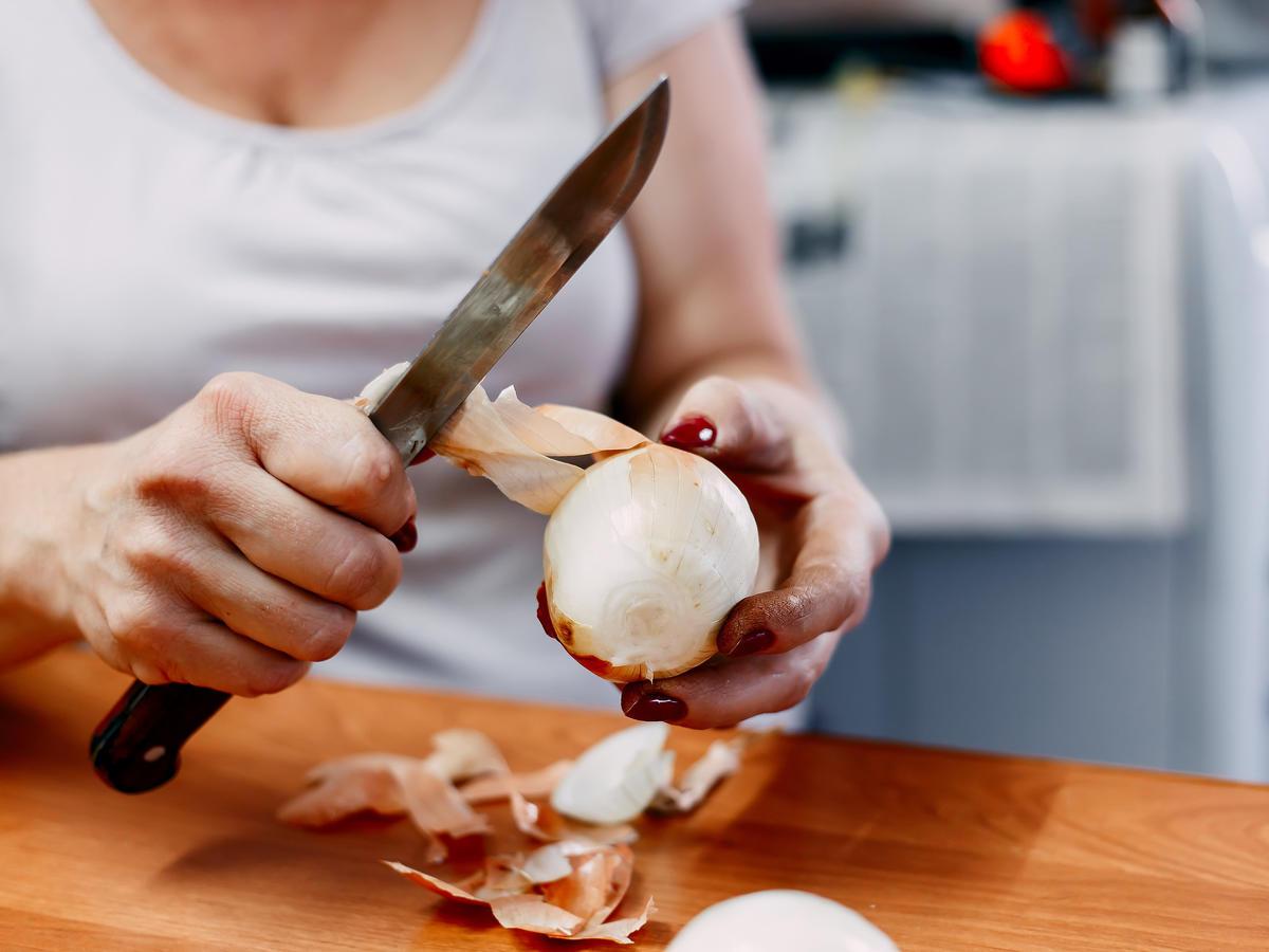 obierki z cebuli