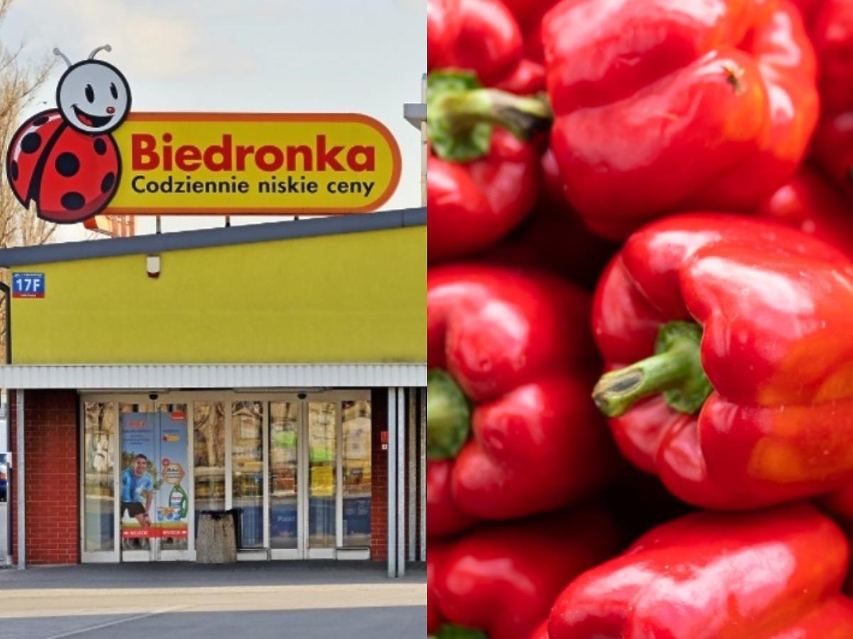Papryka nareszcie w dobrej cenie w Biedronce. Sieć kusi klientów także tanimi pomidorami