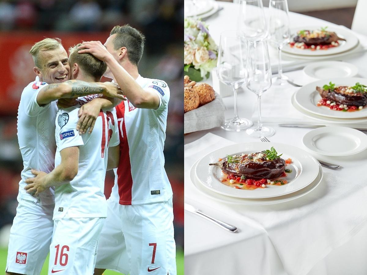 Perliczka, dziki ryż, polędwica z dorsza - to tylko część menu naszych piłkarzy. Dieta zapewni sukces na EURO?