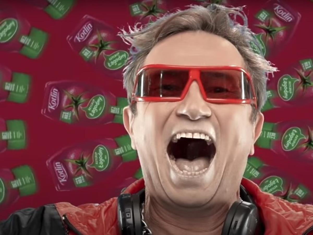 Piotr Cyrwus reklama keczupu