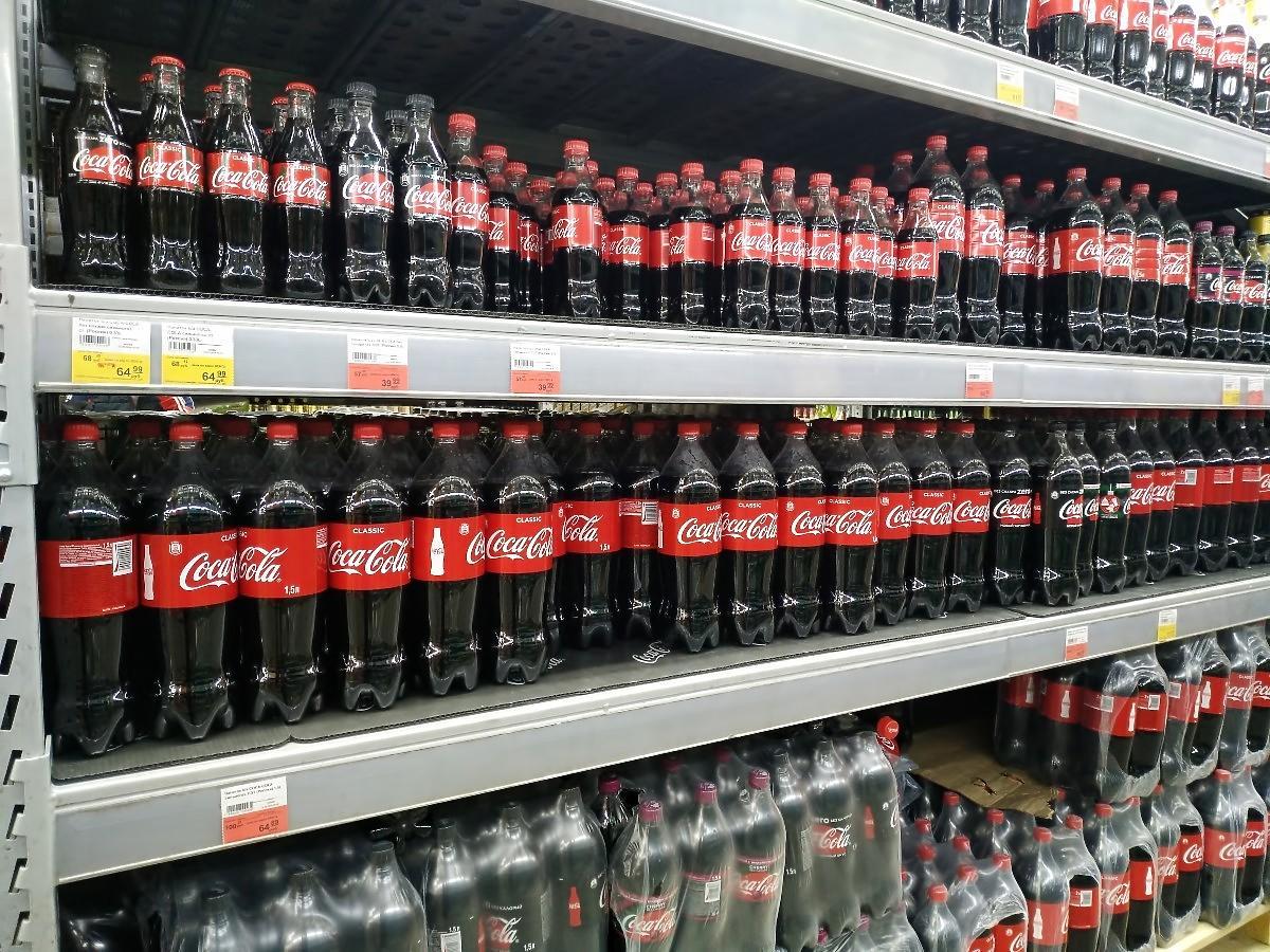 policja coca cola kradną