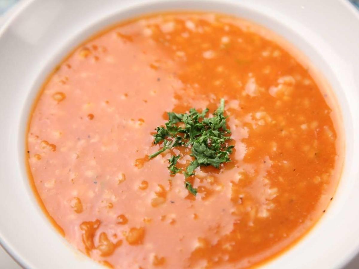 pomidorówka z suszonymi pomidorami
