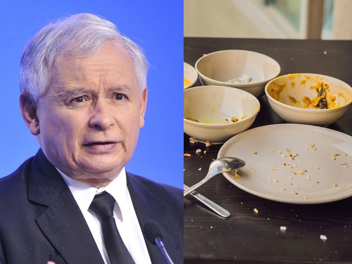 """Posłowie PIS skarżą się na słabą jakość kolacji z Kaczyńskim. """"Puste miski, zimne jedzenie"""""""